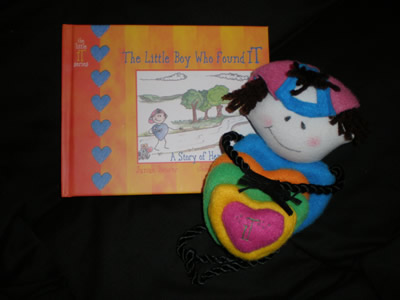Little IT Boy  Book and Doll Set