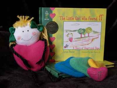 Little IT Girl Book and Doll Set